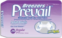 "Prevail Breezers W/easy-lock Fastener, Reg 40""-48"" (Bag of 20)"