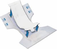 "Select Booster Pad, 12"" X 4.25"" (Bag of 25)"