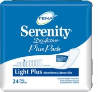 Tena Serenity Ultra Thin Pads, Long (Bag of 24)