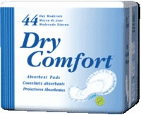Dry Comfort Pad, Day, Moderate, 23 X 10 X 9 X 5 (Bag of 44)