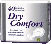 Dry Comfort Pad, Heavy (Bag of 40)