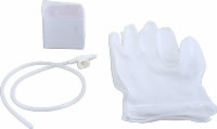 8 Fr Coil Packed Suction Cath Kit W/pr Lf Gloves