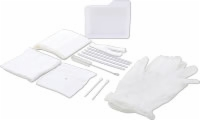 Tracheostomy Care Tray W/vinyl Powder Free Gloves