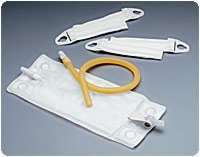Vented Urinary Leg Bag System Combination Pk, Med