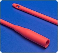 20 Fr Red Rubber Robinson Catheter, Each