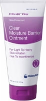 Critic-aid Clear Moisture Barrier Oint, 6oz Tube