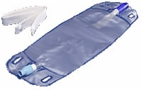 Curity Urine Leg Bag, Large, 25 Ounce/730 Ml