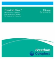 Freedom Clear Catheter, Small W/adhesive