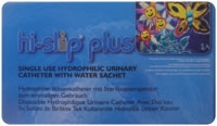 "18fr Male 16"" Hi-slip Plus Cath W/water Sachet"