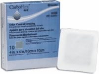 "Carboflex 4"" X 4"" Odor Control Dressing, 10/box"