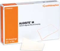 "Algisite M, 4"" X 4"" Alginate Wound Dressing, 10/bx"