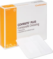 Coversite Plus, 4 X 4 Waterproof Dressing,10/bx