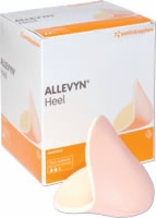 Allevyn Heel Shaped Dressing W/foam Core 5/box