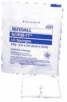 "Sorb-it I.v. Sponge 2"" X 2"", Sterile, 70 Per Box"