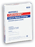 "Curasorb Calcium Alginate Dressing, 2""x2"", Sterile"