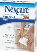 "Non Stick Pad, 3"" X 4"", 12 Per Box"