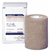 "Duban Cohesive Bandage, Latex Free, 3"" X 5 Yrd"