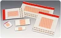 "Polymem 2"" Dot Dressing, 100 Per Box"