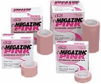 "Megazinc Tape 3"" X 5 Yd Waterproof, Latex Free, Each Roll"