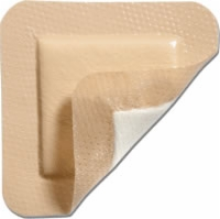 "Mepilex Border 4"" X 4"" Self Adherent Foam Dressing"