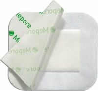 "Mepore 2.25"" X 2.75"" Absorbent Island Dressing"