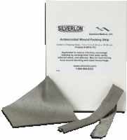 "Silverlon Wound Contact Dressing,4""x12"",10/box"
