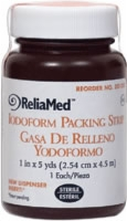 "1"" X 5 Yds Iodoform Packing Strip, Sterile, Lf"