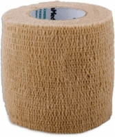 "Self Adherent Elastic Bandage, 2"" X 5yds,tan,latex"