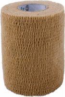"Self Adherent Elastic Bandage, 3"" X 5yds,tan,latex"