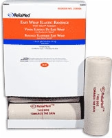 "Easy Wrap Elastic Bandage W/velcro Closure,6""x4yds"