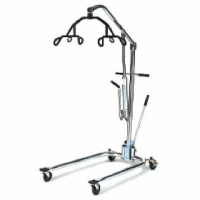 Hoyer Hydraulic Patient Lifter (Chrome Frame, 6 Point Cradle)