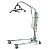 Hoyer Powered Patient Lifter (Chrome Frame, 6 Point Cradle)
