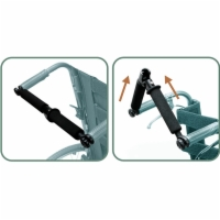 "Karman Foldable Rigidifying Push Bars (for 16"" & 18"" Seat Widths)"