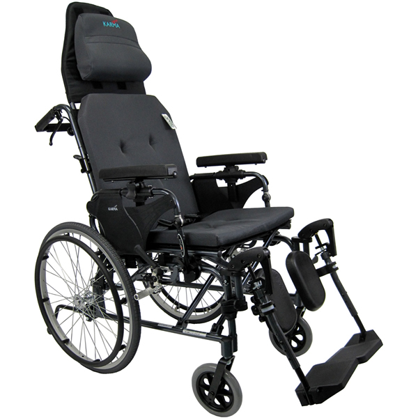 karman ergonomic ultra lightweight reclining wheelchair. Black Bedroom Furniture Sets. Home Design Ideas
