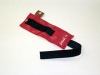 Pouch Variable Wrist And Ankle Weight Set - 2.5 Lbs - Red