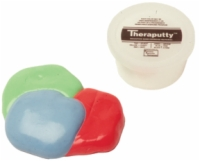 Cando Theraputty Exercise Material - Blue - Firm - 4 Ounce