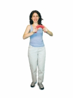 Cando Twist-N-Bend Wrist And Arm Exerciser - Red - Light