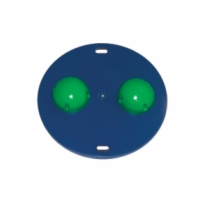 Cando Mvp Rocker Board - 20 Inch Board - 2 Green Hemispheres - Medium