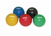 Cando Hand Weight Ball - 2.2 Lbs - 5 Inch Diameter - Yellow
