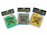 Cando Exercise Band Pep Pack - Moderate - Green, Blue, Black