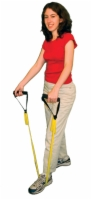 Cando Exercise Band - Accessory - Foam Padded Adjustable Webbing Handle - Pair