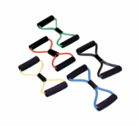 Cando Exercise Tubing Bowtie Exerciser - 30 Inch - Black - X-Heavy