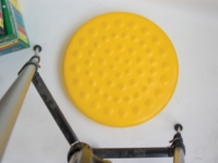 Cando Progressive Instability Pad - Yellow - 20 Inch Diameter - Level 1