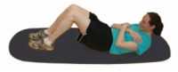 Cando Exercise Mat - 24 X 72 X 0.6 Inches - Closed Cell Foam - Black