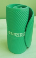 Cando Exercise Mat - 24 X 72 X 0.6 Inches - Closed Cell Foam - Green