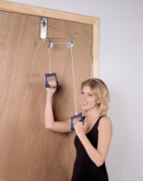 Overdoor Pulley Exerciser - Double Pulley With Bracket
