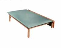 Wall Mounted Mat Platform With Mat, 6'X3'X21""