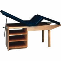 Adjustable Back Rest and Knee Gatch Table