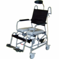 Tilt-In-Space Shower Commode Chair