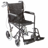 Aluminum Transport Chair with Large Wheels